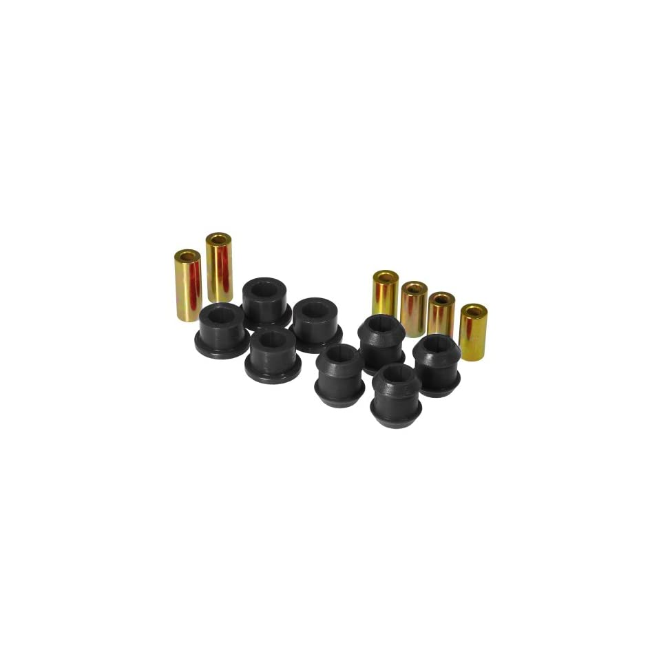 Prothane 8 202 BL Black Front Upper and Lower Control Arm Bushing Kit