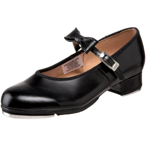 Bloch Dance Merry Jane Tap Shoe (Toddler/Little Kid/Big Kid),Black,13 M Us Little Kid