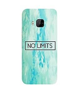 No Limit!!! HTC One M9+ Case
