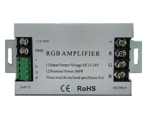 Led Rgb Amplifier Controller Dc12V 360W 10A For Led Strip