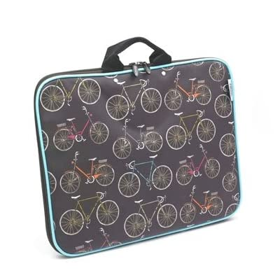 Bikes Laptop Case (Small)
