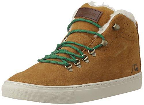 Quiksilver AQYS100006-XCCW  JAX M, Sneaker alta uomo, Multicolore (Mehrfarbig (XCCW  BROWN/BROWN/WHITE)), 41