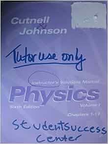 Physics Cutnell Johnson Books