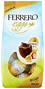 Ferrero Eggs Hazelnut 100 g (Pack of 10)