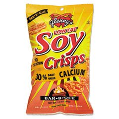 - Soy Crisps, Barbeque, 1.3 Oz Single-Serve Bag