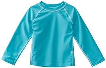 i play. Unisex-baby Infant Long Sleeve Rashguard Shirt,3T,Aqua