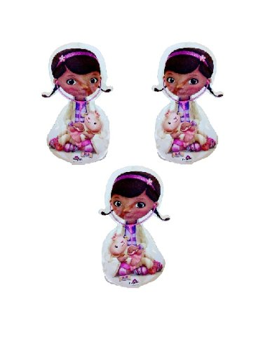 "16"" Mini Doc Mcstuffins Mylar Balloon With Lambie Disney Junior (Pack Of 3) front-891603"