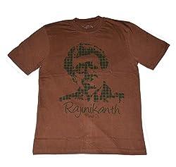 Indsights Men's T-Shirt Rajnikant Mind It