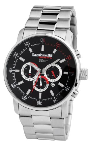 Lambretta Imola Mens Watch (Black Dial)