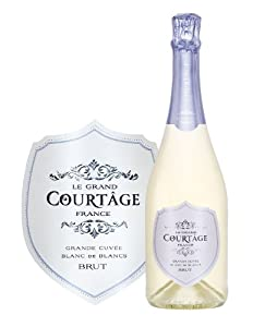 NV Le Grand Courtȃge Grande Cuvée Blanc de Blancs Brut 750 mL