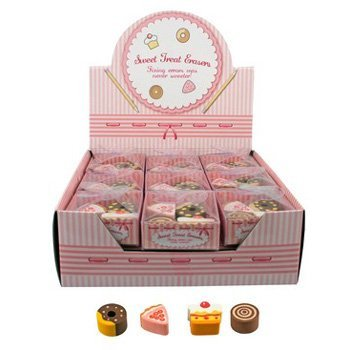 Sweet Treat Erasers Bakery 4 Pack