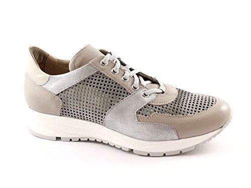 LION LIONELLE 20882 grigio piuma scarpe donna sportive 38
