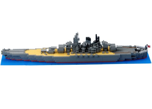 Nanoblock Technology NB-004 - Battleship Yamato