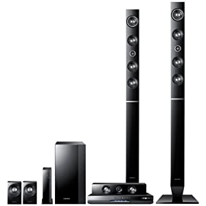 Samsung Electronics HT-D6730W 7.1 Channel Home Theater System with Samsung Smart Blu-ray, Built in Wi-Fi