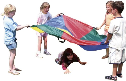 Get Ready Kids 6' Play Parachute - 1