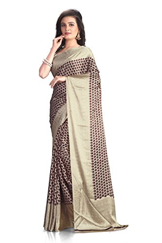 A G Lifestyle Women's Silk Saree(RSPL503 A_Multi-Coloured)