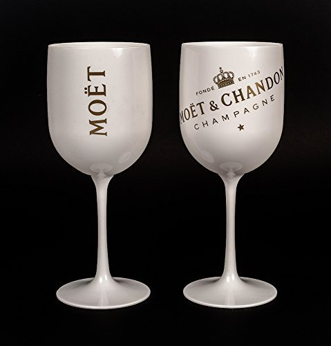 2015 Moet Chandon Ice Imperial White Acrylic Champagne Glass (Moet Champagne Imperial compare prices)
