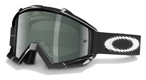 Oakley Proven Mx Goggles Jet Black Dark Grey Lens