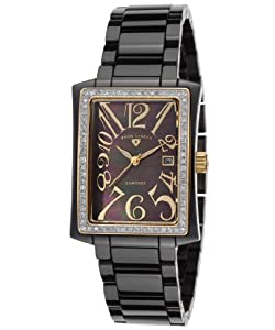 Swiss Legend Women's 10034D-BKBGA Bella Analog Display Swiss Quartz Black Watch