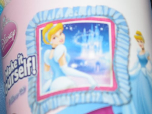 No Sew Make It Yourself Pillow Kit- Cinderella