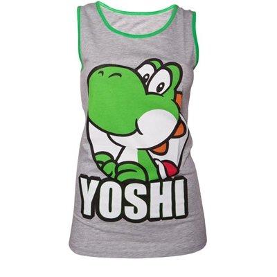 Nintendo Yoshi Tank Top (Damen) -M- Grau