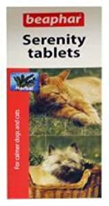 Sherley's Serenity Tablets 20 Pack for Dogs & Cats