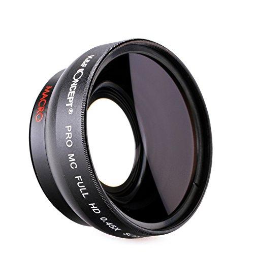58mm 0.45X Lente digitale dell'angolo largo ad alta fefinizione ottica.