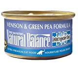 Natural Balance Limited Ingredient Diets Venison and Green Pea Formula Canned Cat Food