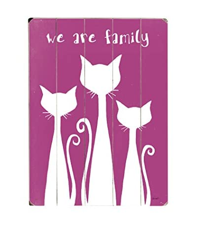 Artehouse We Are Family Wood Wall Décor