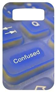 Transparent Keys White Back Cover Case for Blackberry Bold 9700