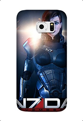 Samsung Galaxy S6 Edge Plus/S6 Edge+ Case, [Drop Protection] Scratch Resistant Perfect-Fit Shock Absorbing Non-Slip Game Mass Effect Hard Armor Case