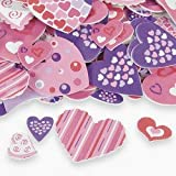 250 FUNKY HEART VALENTINE'S Day Foam Colorful STICKER SHAPES/Scrapbooking SUPPLIES/Self Adhesive/Arts/Crafts ACTIVITY/Love