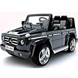 Kids 12V Electric Ride on Mercedes G55 AMG SUV Ride on Car in Black