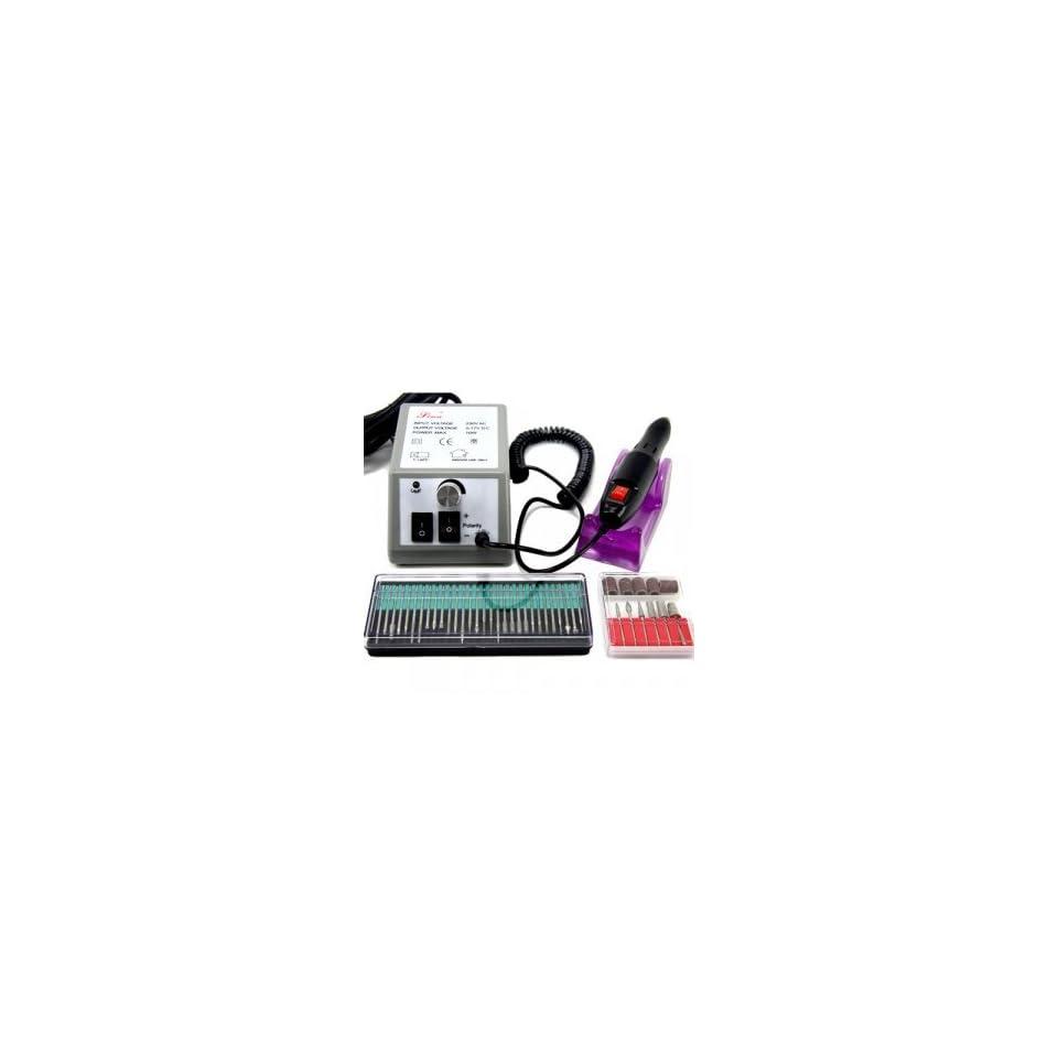 Electric Nail Manicure Pedicure Drill File Tool Kit 12V
