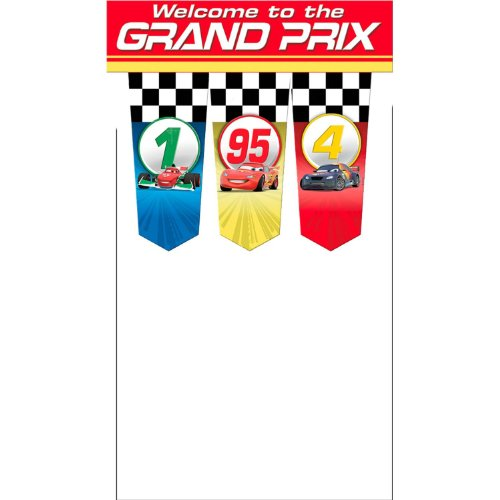 Disney Cars Grand Prix Door Banner