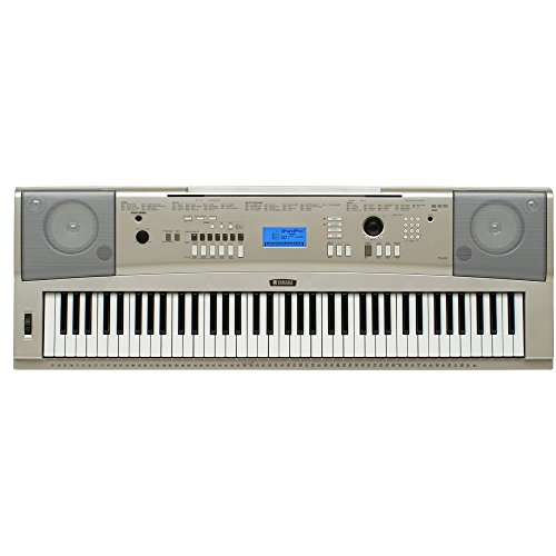 [해외]야마하 YPG-235 X-스타일 키보드 스탠드 및 서바이벌 키트 76 키 휴대용 그랜드 피아노 (포함 전원 공급 장치 및 2 년 연장 보증)/Yamaha YPG-235 76-Key Portable Grand Piano