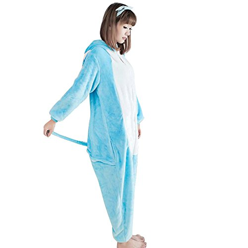 Unisex Onesies Kigurumi Animal Pajama Long Sleeves Sleepwear Cosplay Costume