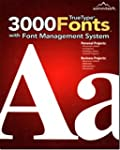 3000 TrueType Fonts - with Font Manag...