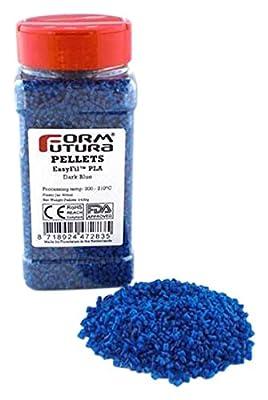 Formfutura EasyFil PLA - Dark Blue - 3D Printer Pellets