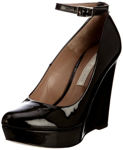 Pied A Terre Women's Ates Black Wedges Heels 0431506880035010 5 UK