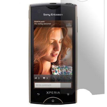 1 X Screenguard / Displayschutzfolie Xperia RAY Displayschutz SONY ERICSSON XPERIA RAY
