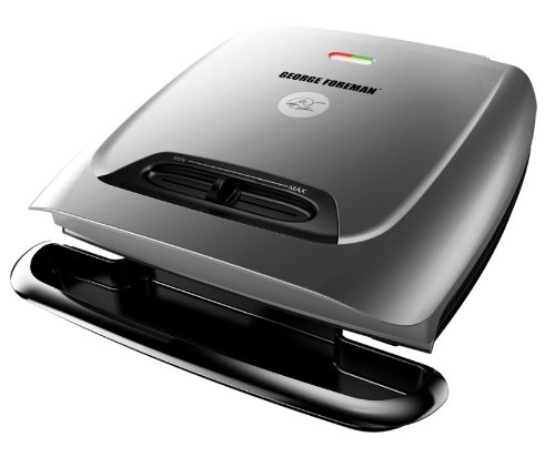 Find Discount George Foreman GR2121P 8-Serving Classic Plate Grill with Variable Temperature