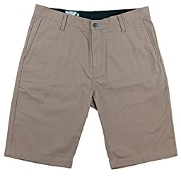 Volcom Men\'s Vmonty Modern Fit Short (38, Khaki)