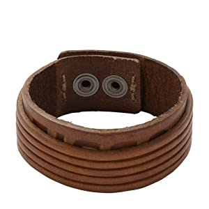 Fossil Herren-Armband Messing JF88086040