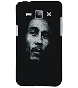 PrintDhaba Serious Face D-5413 Back Case Cover for SAMSUNG GALAXY J1 (Multi-Coloured)