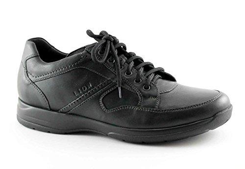 LION 8461 nero scarpe uomo confort antistatiche pelle 43