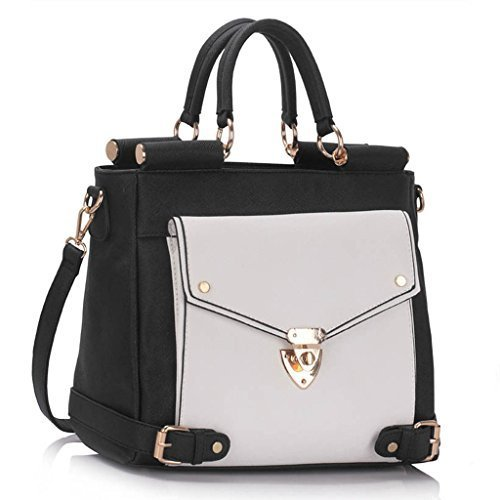 New Women Designer HandBags Ladies Faux Leather Shoulder Tote Satchel Cross Body Grab Handbags
