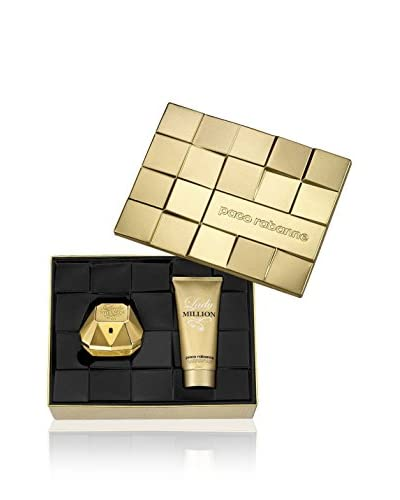 Paco Rabanne  Set Perfume Mujer 2 Uds. Paco R.Lady Million Edp 50 ml +Body Lotion 100 Ml