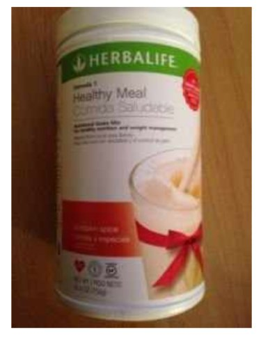 Herbalife Formula 1 Pumpkin Spice Healthy Meal Nutritional Shake Mix