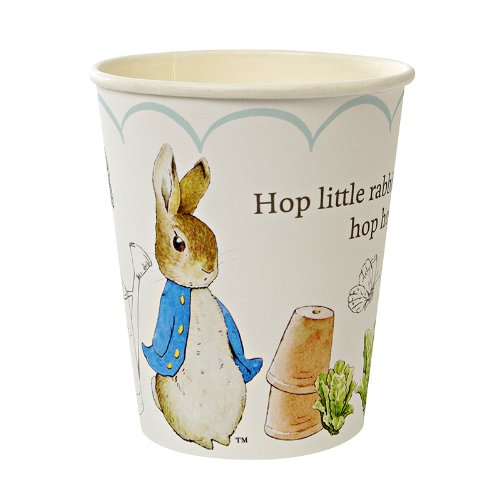 Meri Meri Peter Rabbit Party Cups -- Two Packs -- 24 Cups Total